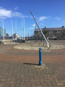 Amble Sundial in 2020
