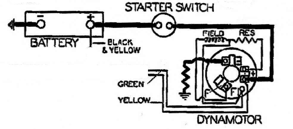 Dynamotor morris cowley information page lucas plc ignition switch lucas wiring diagram dynamo to battery at crackthecode.co